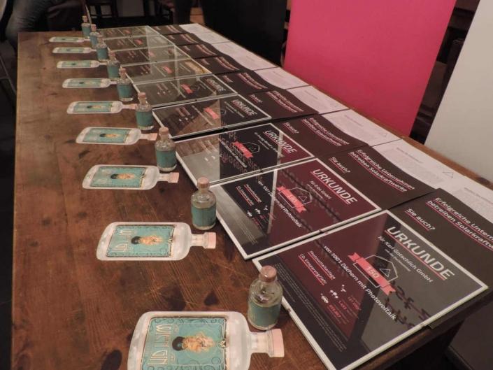 1. Solarhelden Event mit Wien Gin und Solarhelden Urkunden
