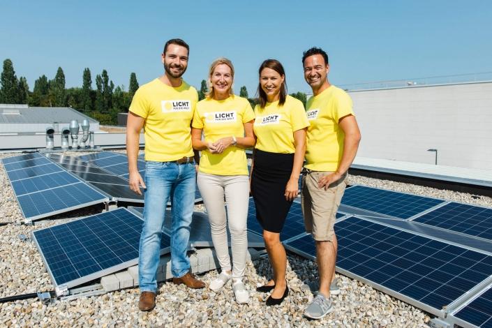 LDS Lederer und Tausendundein Dach Photovoltaik sind Partner von Licht für die Welt