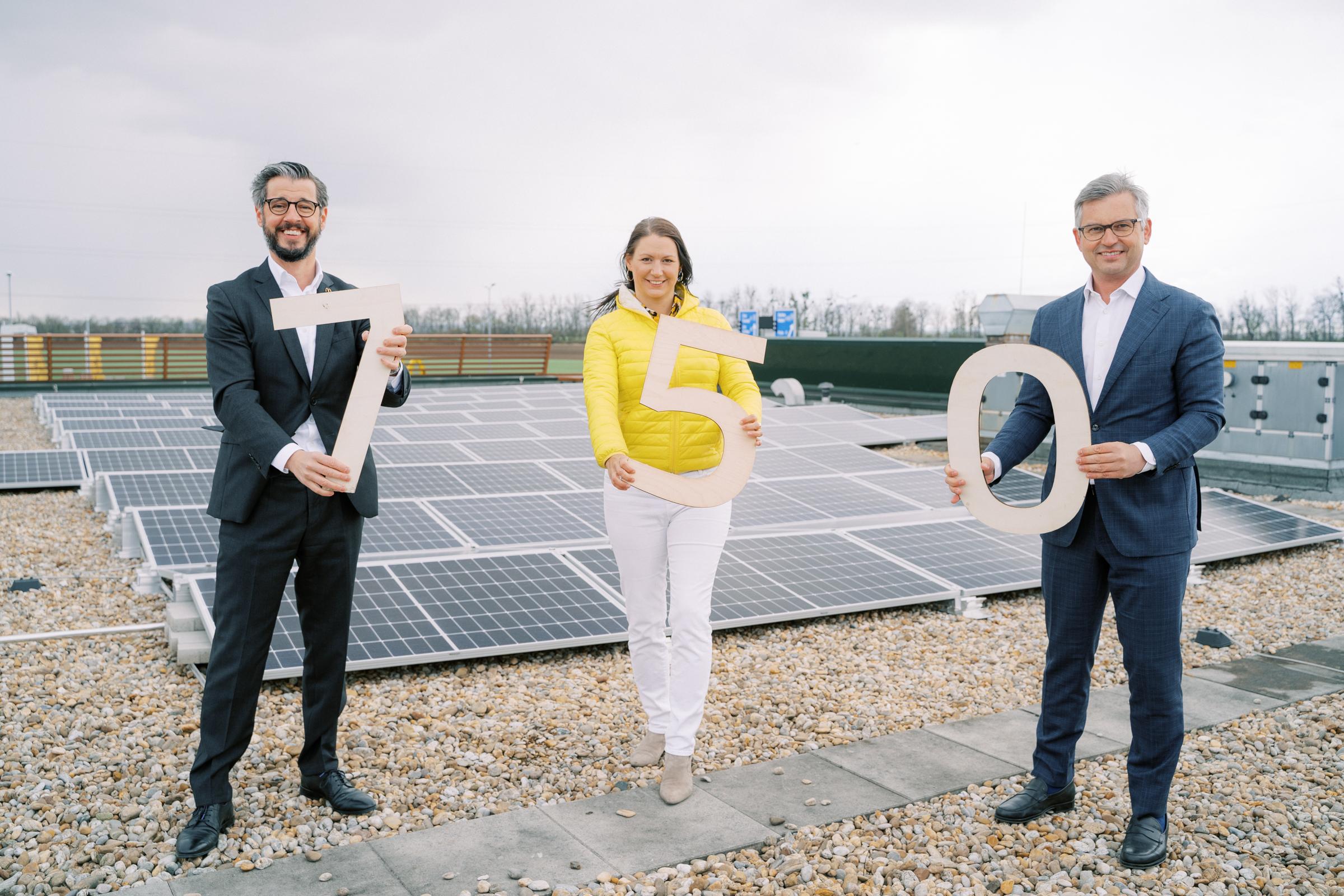 Photovoltaikanlage, Österreich, McDonalds,